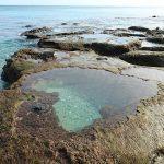 ハートロックはここにあるよ!奄美大島、手広海岸散策。