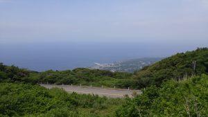 山頂口から見下ろす元町港