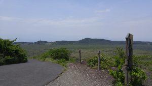 休憩所から眺める風景