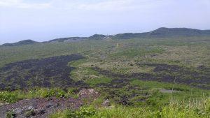 山頂から見下ろす風景