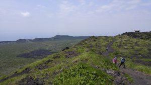 一周コースから眺める風景