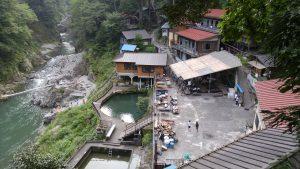 鳩ノ巣バンガローの景観2