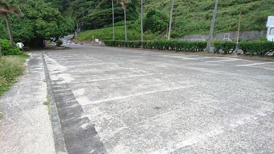 大浜海浜公園の駐車場