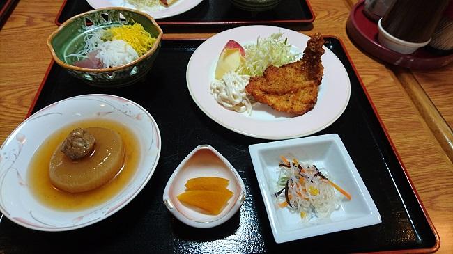 二日目の夕食